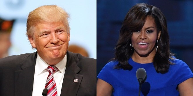 Michelle Obama Blasts Trump Over Improvements To 'Let's Move' School Lunch Program (Video)