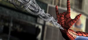 This is Spiderman's Signature Sign