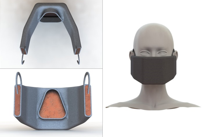MIT developed heated covid mask