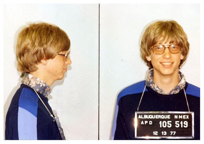 Bill Gates mug shot
