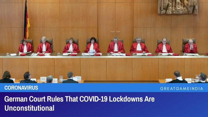 German Court Rules COVID-19 Lockdowns Unconstitutional