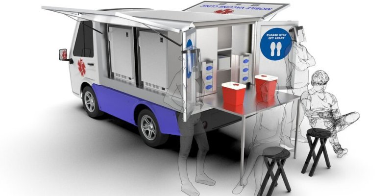 Mobile Vaccination Vehicle