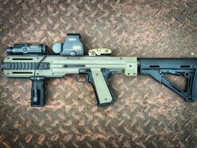 Laser assault rifle
