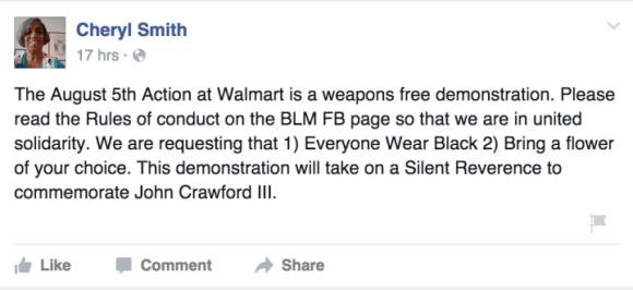 Walmart BLM John Crawford