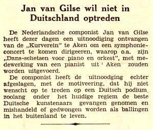 muziek van Jan van Gilse