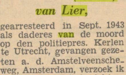 Het Parool, 7 november 1945