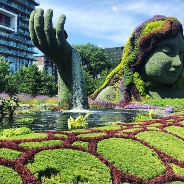 Mosaiculture plant sculptures