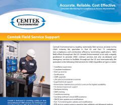 Cemtek Literature on Field Services
