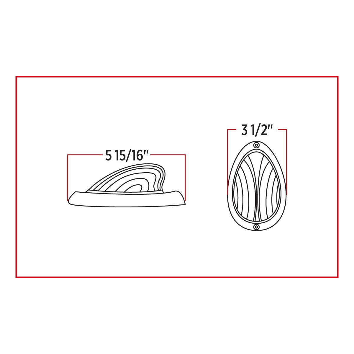 hight resolution of freightliner clear amber turn signal marker led sleeper light 35 diodes