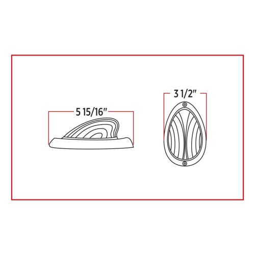 small resolution of freightliner clear amber turn signal marker led sleeper light 35 diodes