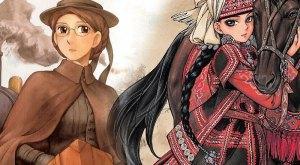 THAIHABOOKS đã mua bản quyền 2 siêu phẩm của tác giả Kaori MORI【EMMA】và 【OTOYOMEGATARI】
