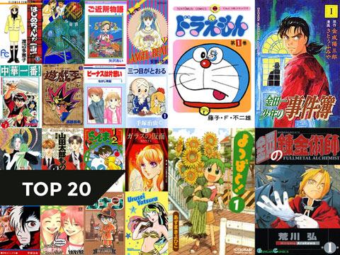 【TOP 20】Manga yêu thích của mình tính đến 2O2O (Phần 1)
