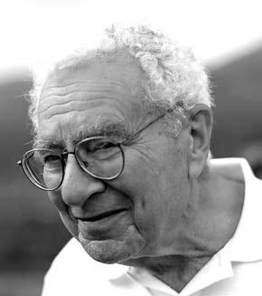 """Американский физик-теоретик Марри Гелл-Манн (родился в 1929), лауреат Нобелевской премии по физике в 1969 год «за открытия, связанные с классификацией элементарных частиц и их взаимодействий» (""""Википедия"""")"""
