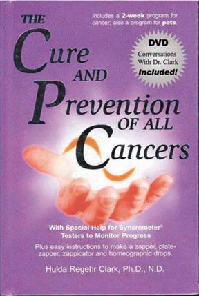 Обложка книги Х. Кларк «Лечение и предотвращение любых форм рака»