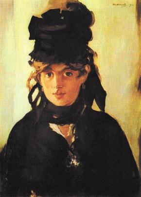 Эдуард Мане. Портрет Берты Моризо. 1872 год