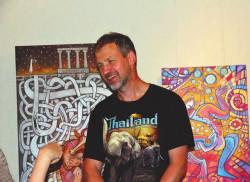 Геолог и художник Иван Кулаков. Фото А. Орленко
