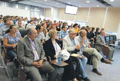 Лекторы в первом ряду слева направо: Татьяна Леонтьева, Владимир Булдаков, Сергей Нефёдов. Фото Татьяны Морозовой
