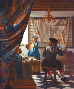 Ян Вермеер. Аллегория живописи. 1666–1667