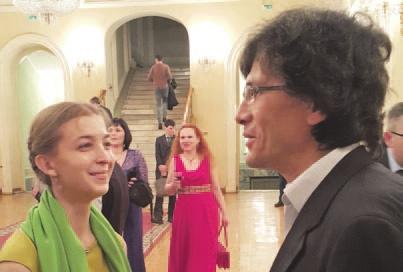 Ася Казанцева и Александр Марков.  Фото М. Борисова