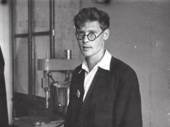 Аспирантура, кафедра биофизики МГУ, 1955 год