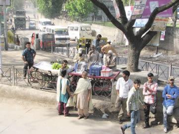 На улице Раджаури. Фото Б.К. Ганнибала