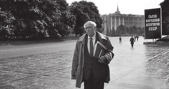 Андрей Дмитриевич Сахаров, 1989 год. Фото: Gueorgui Pinkhassov/Magnum Photos/Agency.Photographer.ru, с сайта hro.org