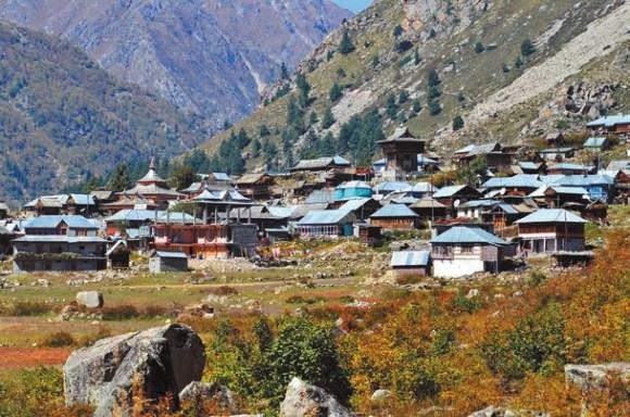 Деревня Читкул. 2 октября 2011 года. Фото А. Андреева
