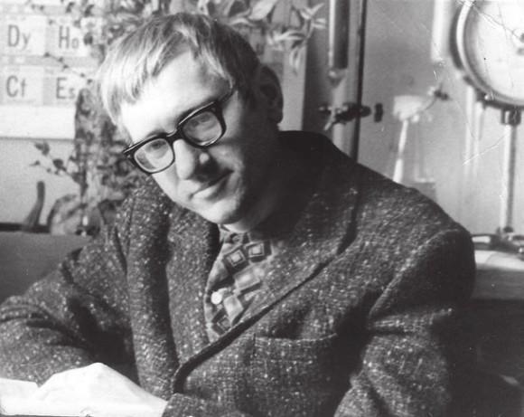 Валерий Иванов (Хром) в Институте молекулярной биологии, 1970 год