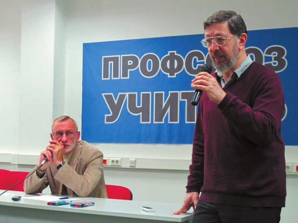 Леонид Перлов и Всеволод Луховицкий (справа). Фото Н. Деминой
