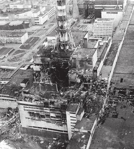 Чернобыль. 4-й реактор. Фото С. Шварева