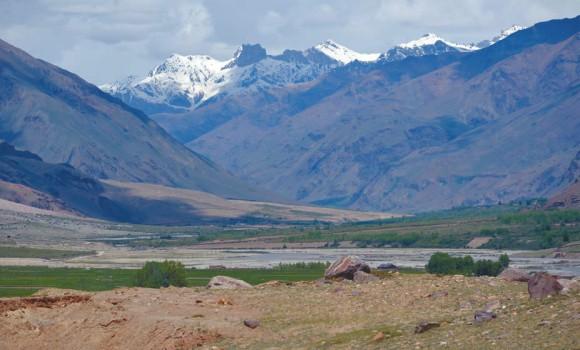 Долина реки Дода около Сани