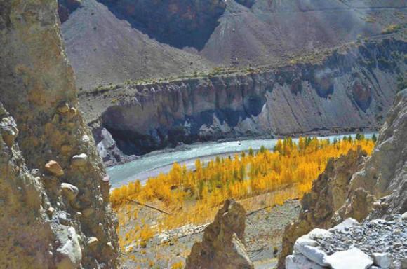 Долина Спити. 4 октября 2011 года. Фото Д. Скоринова