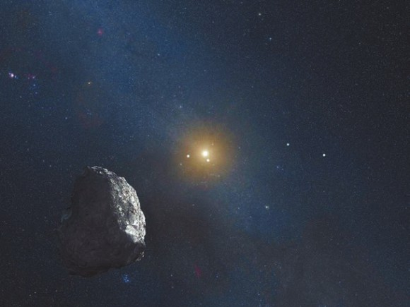 Фантазия художника. Изображение NASA, ESA, and G. Bacon (STScI)