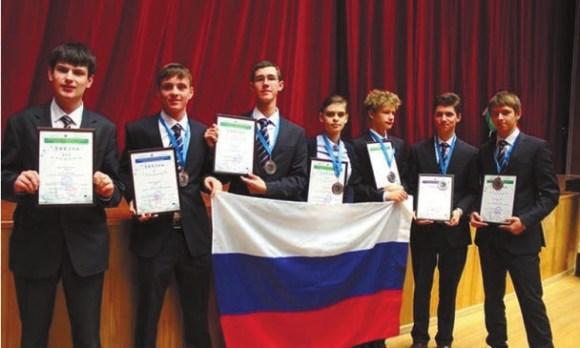 Российские победители и призеры Олимпиады
