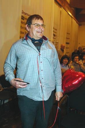 Борис Штерн на юбилее ТрВ