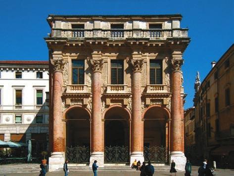 Рис.1. Palazzo del Capitaniato Палладио в Виченце