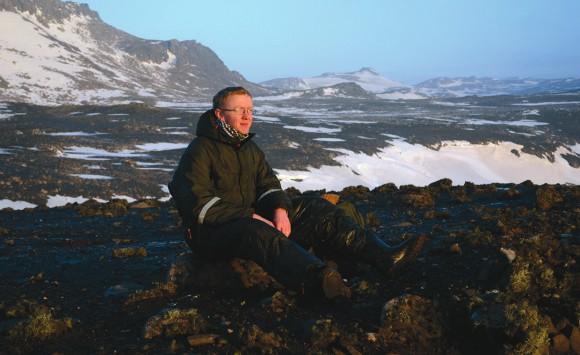 Алексей Лупачев на острове Кинг-Джордж, Западная Антарктика. Фото И. Жарких