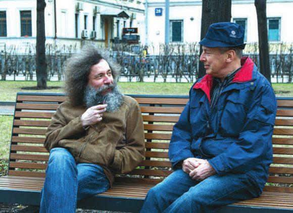 Семён Шлосман и Михаил Гельфанд. Фото И. Жилина