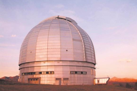 Телескоп БТА. Фото: «Википедия»