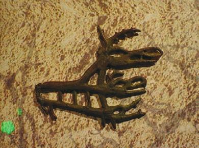 Образец кулайского культового литья. (Кулайская цивилизация — V век до н. э. — V век н. э.