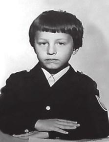 Будущий экономист Константин Сонин. 1-й класс, 1979 год