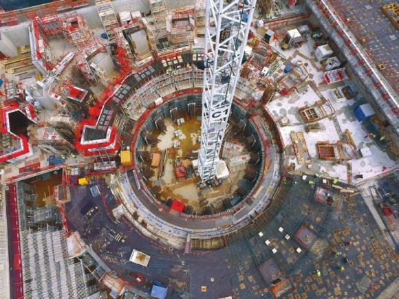 Строительство ITER. Июль 2016 года. Фото с сайта www.iter.org