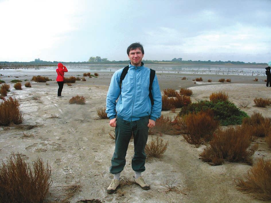 Аргентина. Бывшее дно озера с изменившимся уровнем воды. Фото из архива Е. Задереева