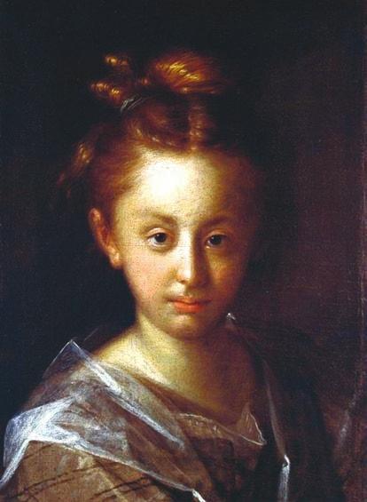 Портрет Марии Максимилианы, дочери художника