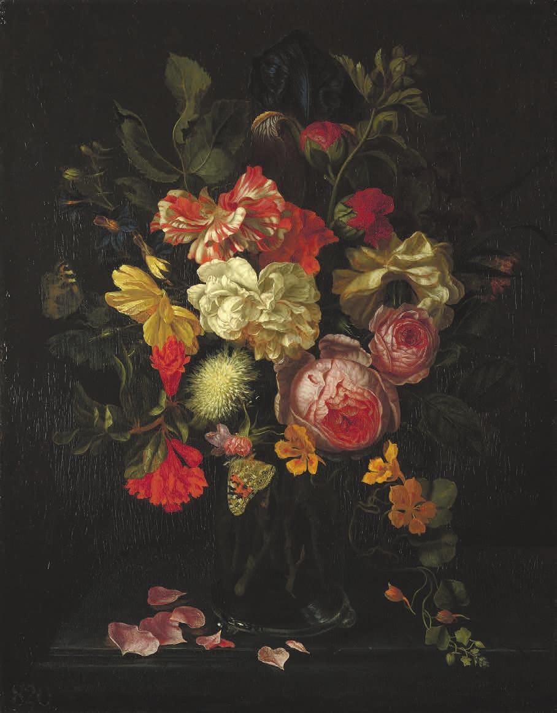 Рис. 2. Мария ван Остервейк. Цветы