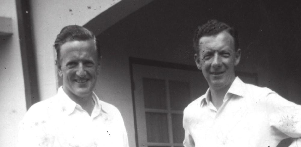 Питер Пирс и Бенджамин Бриттен. Фото с сайта www.brittenpears.org