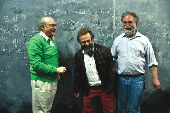 Михаил Шифман, Фидель Шапошник и Эдуардо Фрадкин. Конференция в Ла-Плате, апрель 2013 года