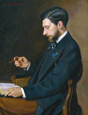 Портрет Эдмона Мэтра. 1869