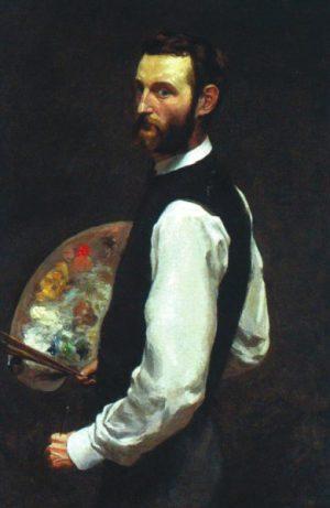 Автопортрет. 1865–1866