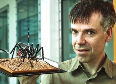 Люк Алфей — основатель Oxitec (www.epo.org)
